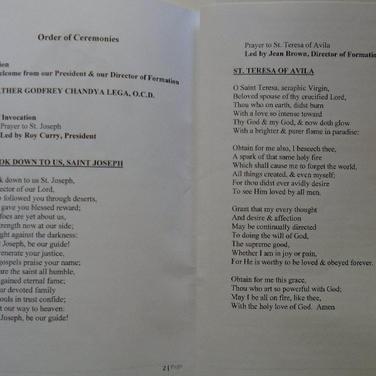 Program (p 5, 6)