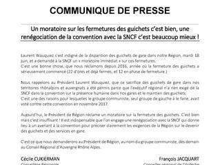 Les élus.s communistes demandent la renégociation de la convention TER Régionale à la suite de l&#39
