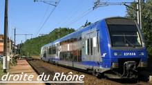 Le projet de réouverture au trafic TER de la Rive Droite du Rhône prend forme… pour de vrai !
