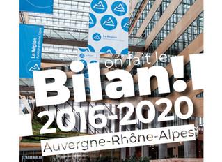 BILAN DES CONSEILLER.E.S RÉGIONAUX COMMUNISTES D'AUVERGNE-RHÔNE-ALPES - MANDATURE 2016/2020 -