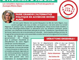 Retrouvez le bilan à mi-mandat des élu.e.s communistes du Groupe l'Humain d'Abord PCF-FDG