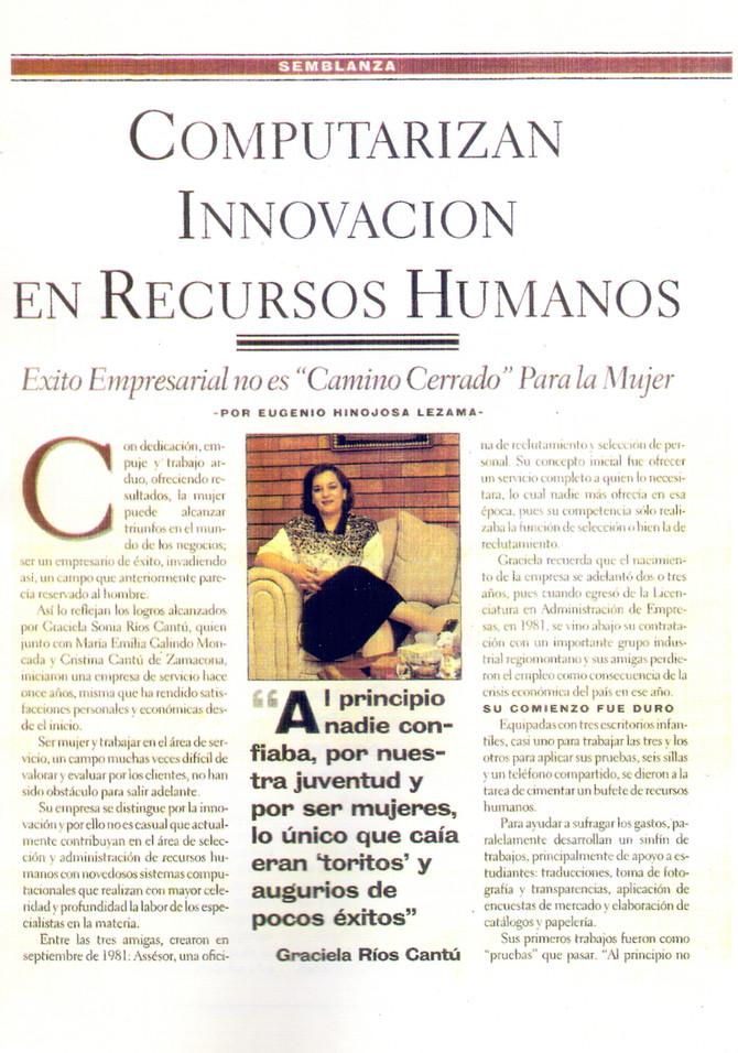 Innovando en Recursos Humanos