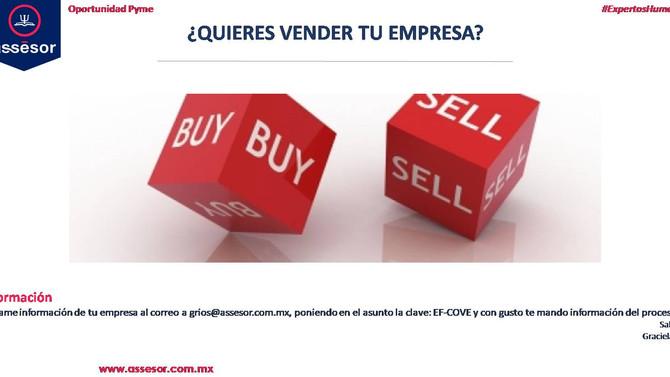 ¿Quieres vender tu empresa?