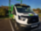 Skip Towing Van | Parked Van | ATS Skip Hire