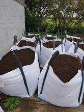 Topsoil for sale | Topsoil in a white bag | ATS Skip Hire