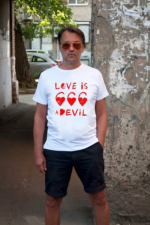 ФУТБОЛКА «LOVE IS DEVIL»