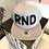 Thumbnail: Бейсболка «RND» прямой козырёк, снэпбэк