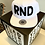Thumbnail: Бейсболка «RND» прямой козырёк, снэпбэг