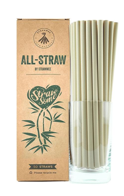 All-Straw - Longdrink Größe (21 cm / 8mm)