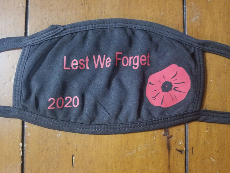 Remembrance Day Mask2 with 2020