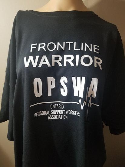 OPSWA Tshirt Frontline warrior