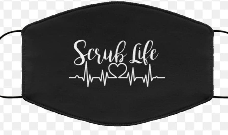 scrub life mask Non medical cloth masks