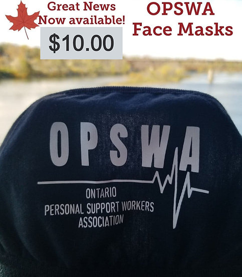 New OPSWA Face masks