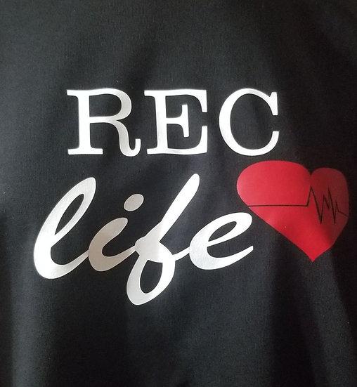 REC life with heart long sleeve shirt