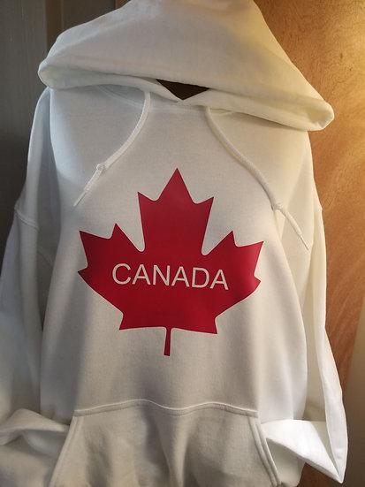 Hoodie Canada Plain