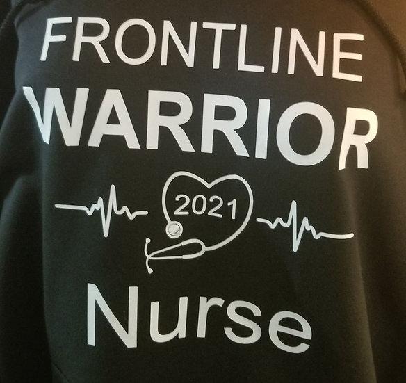 Frontline Warrior Nurse T-shirt