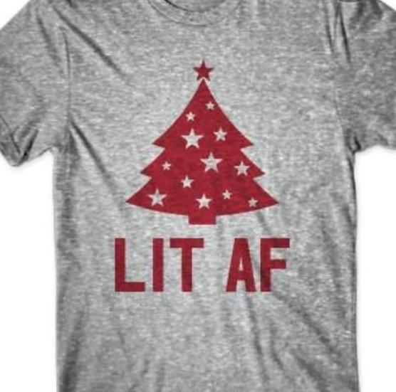 Lit AF Thsirt