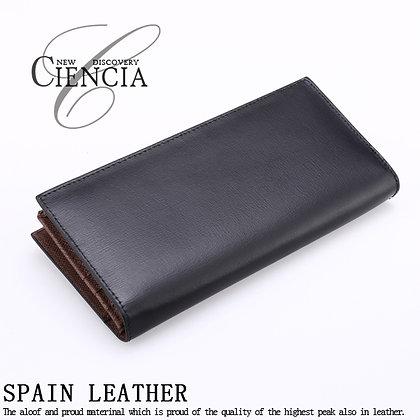 CIENCIA/スペインレザー2つ折り長財布
