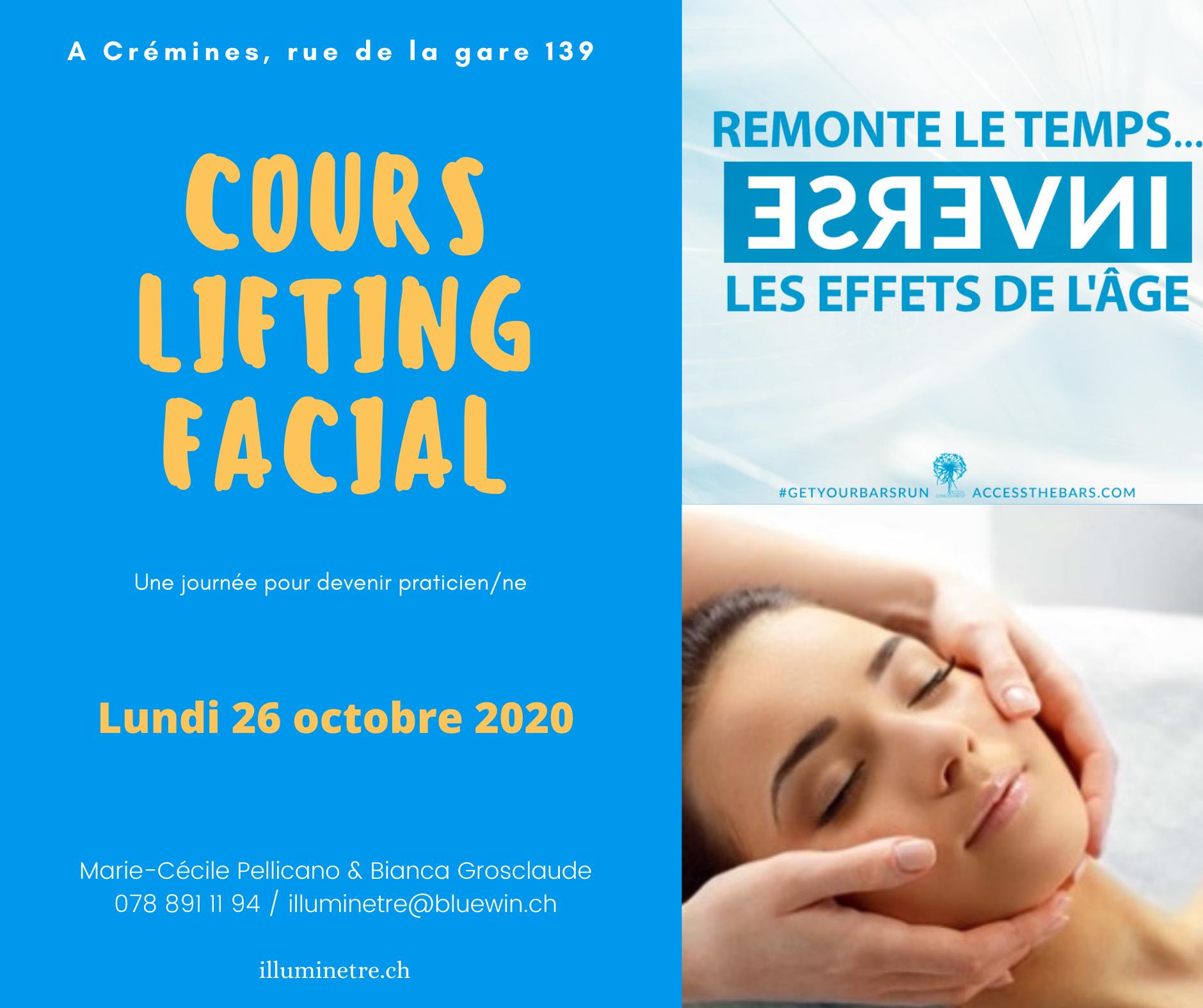 Cours Lifting Facial