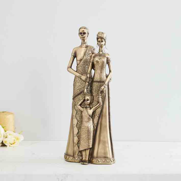 Add A Sophisticated Charm To Your Living Room Decor With this Impressive Figurine