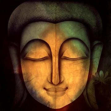 Lord Buddha Painting Canvas: Mysteriously Beautiful That Can Give Different Viewer Different Meanings