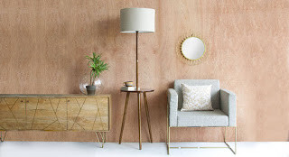 Floor Lamp With Side Table   Serene And Elegant Looks