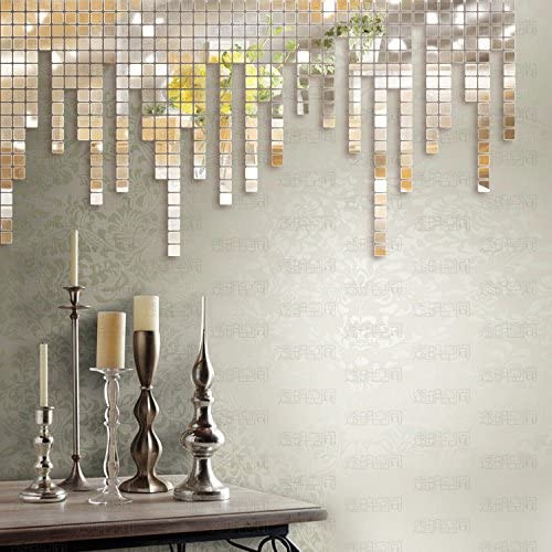 3D Mosaic Mirror Art: Design The Wall Decor With Your Own Creativity