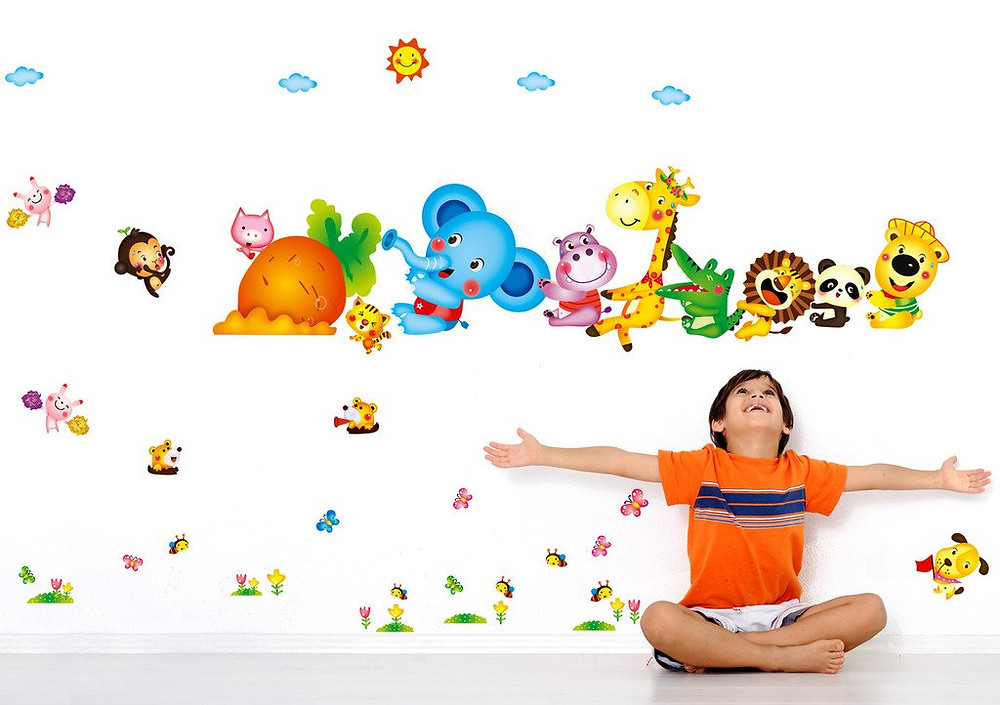 Wall Stickers For Kids Room: Decorate Your Home Just In Minutes