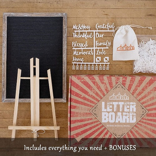 Rustic Wood Message Board: Give off The Shabby Chic And Vintage Vibe