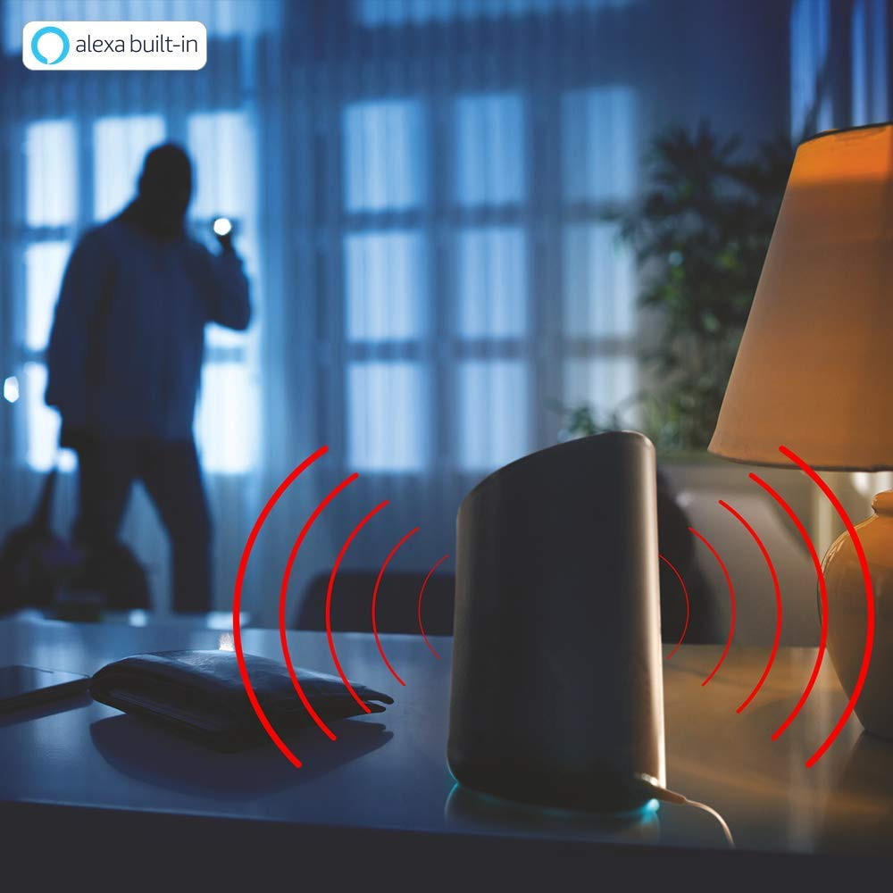 AI Enabled Smart Camera: Alexa Built-In Helps To Remotely Monitor And Communicate With Your Home