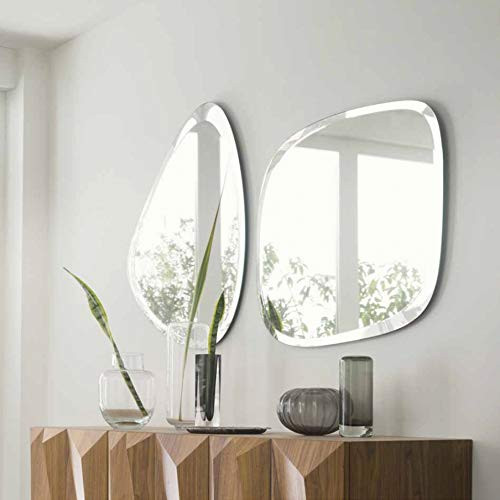 Frameless Wall Mirror: Decorative Thing Which Can Be Hanged In Any Orientation