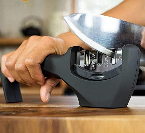 Perfect Modern Kitchen Accessory: Polish Your Dullest Knives In Minutes