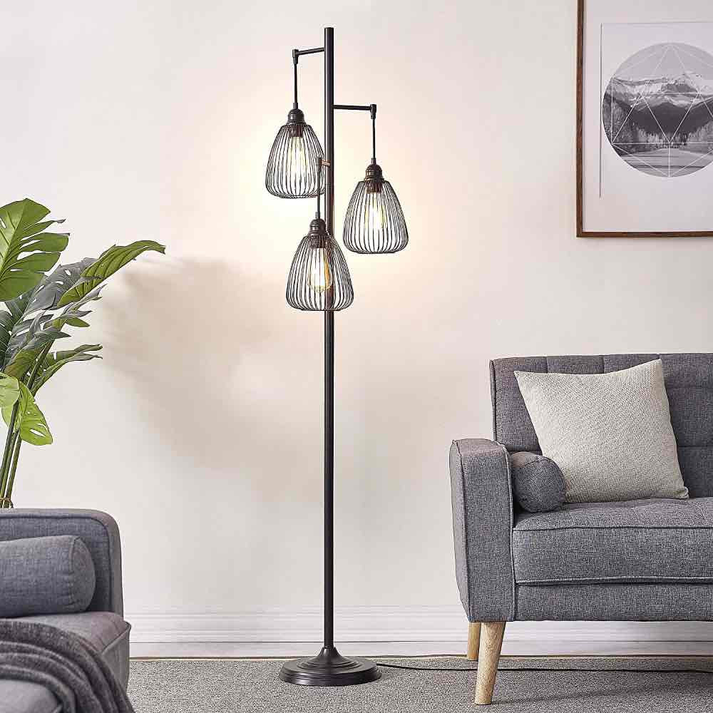 Floor Lights   Modern Floor Lamp Creates A Warm And Inviting Space