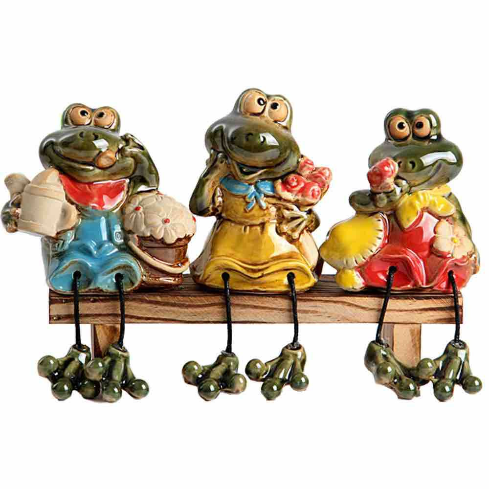 Cute Frog Outdoor Garden Statue: Great Addition To Your Garden And Home Decor