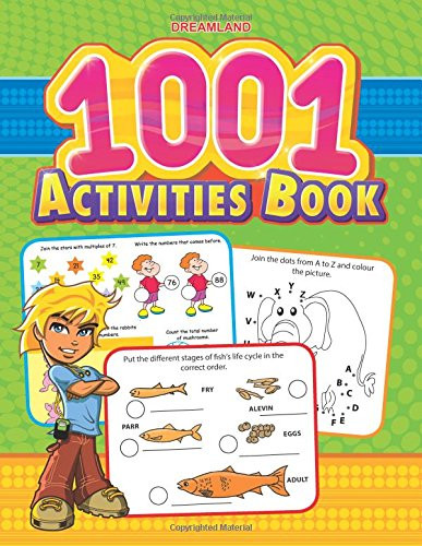 Activity Book For Preschoolers: First Educative Lessons In Playful Manner