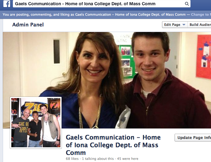 MAss Comm Facebook PAge
