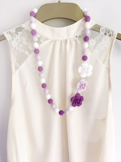 Pretty Flower Nursing Necklace