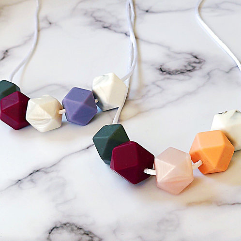Berry & Marble Necklace
