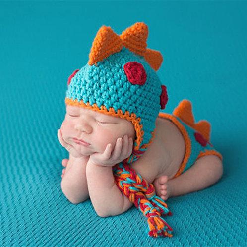 Cute Dinosaur Baby Photography set