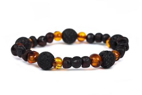 Men's Tortoise Elasticated Bracelet
