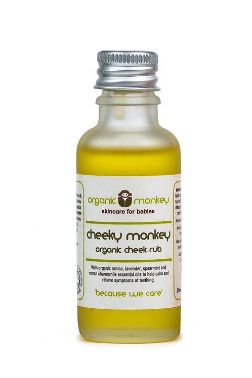 Cheeky Monkey Organic Cheek Rub for Teething- 30ml
