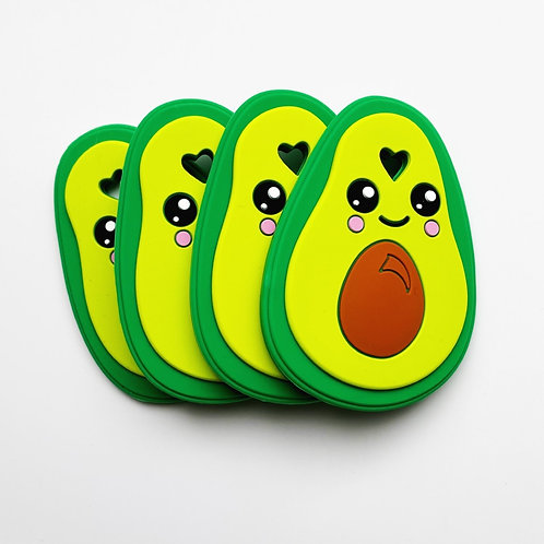 Arty Avocado Silicone Teether