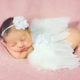 Angel Wings Baby Photography set