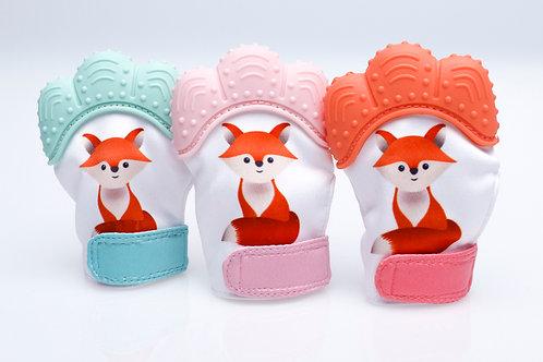 Baby Fox Chew Mitten