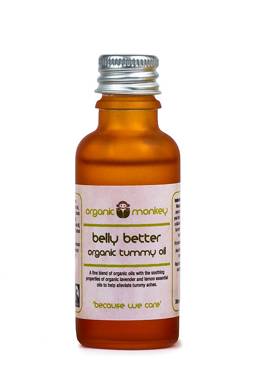Belly Better Organic Tummy Oil-30ml