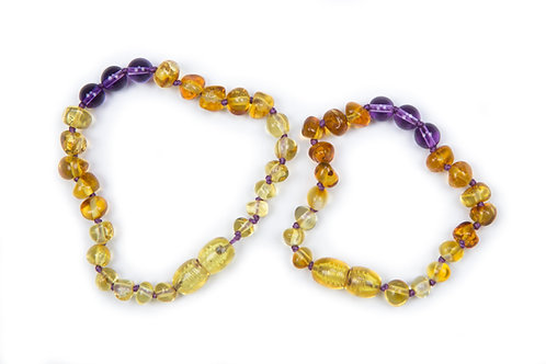Baby J's Signature Amber Mummy & Child set
