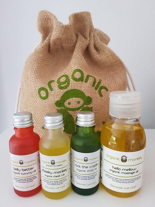 Organic Monkey Gift Set