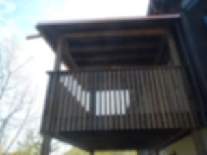 Balkon am Bach