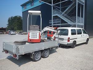 Kleinbagger 750kg
