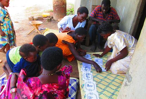 Community training, sanitation, hygiene, Busoga Trust